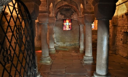 Zdjęcie FRANCJA / Alzacja / Wissembourg / Wissembourg, Kościół św. Piotra i Pawła z XIII w., wczesnogotycki