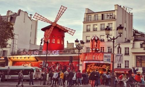 Zdjecie FRANCJA / - / PARYŻ / Moulin Rouge
