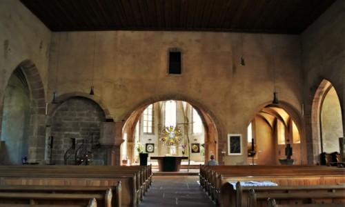 Zdjęcie FRANCJA / Alzacja / Wissembourg / Wissembourg, Kościół św. Jana, ewangelicki, gotyk