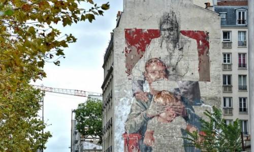Zdjecie FRANCJA / - / PARYŻ / Street art Paris 13
