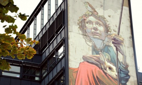 Zdjecie FRANCJA / - / PARYŻ / Polski street art