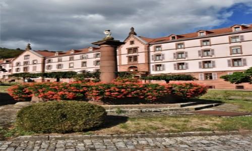 Zdjęcie FRANCJA / Dolny Ren / Oberbronn / Oberbronn, klasztor - koniec