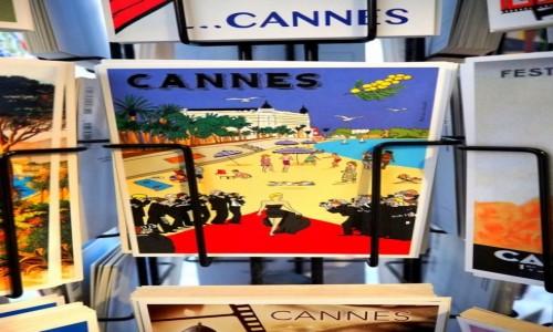 Zdjecie FRANCJA / Lazurowe wybrzeże / Cannes / Pocztówka z Cannes