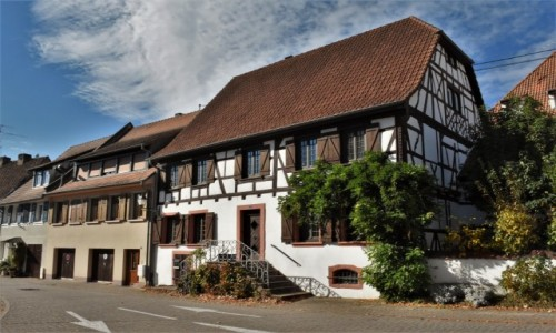 FRANCJA / Alzacja / Lauterbourg / Lauterbourg, zakamarki