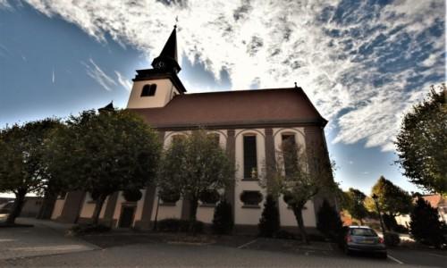 Zdjecie FRANCJA / Alzacja / Lauterbourg / Lauterbourg, kościół katolicki