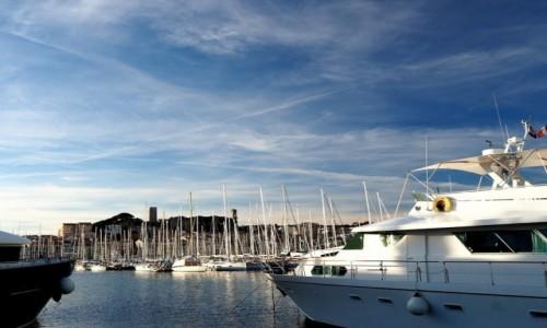 Zdjęcie FRANCJA / Lazurowe wybrzeże / Cannes / W porcie