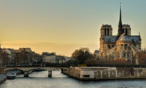 Zdjecie FRANCJA / - / PARYŻ / Notre Dame