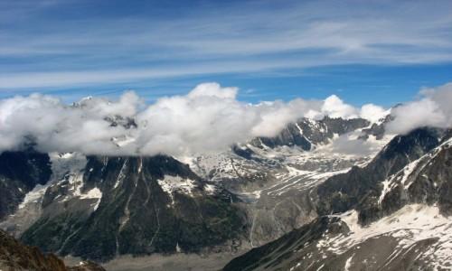 Zdjecie FRANCJA / Alpy / Masyw Mont Blanc / Środek lata w Alpach