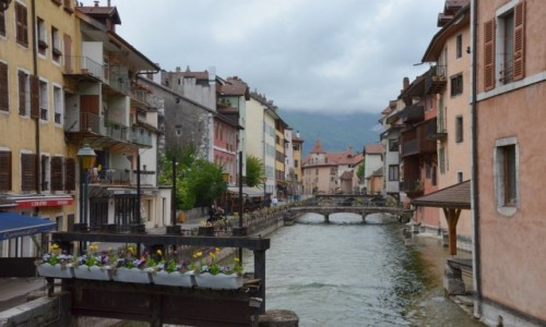 Zdjecie FRANCJA / Owernia / Annency / Annency nazywane malutką Wenecją
