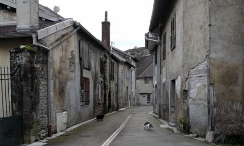 Zdjecie FRANCJA / Burgundia-Franche-Comté / Quingey / Urokliwe miasteczko