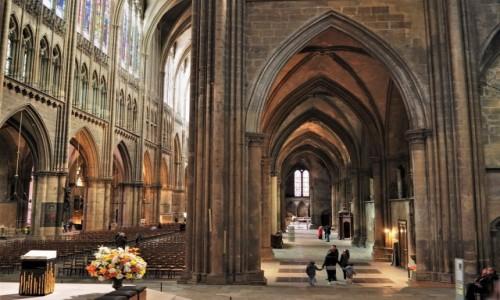 Zdjecie FRANCJA / Lotaryngia / Cathédrale Saint-Étienne de Metz / wewnątrz...
