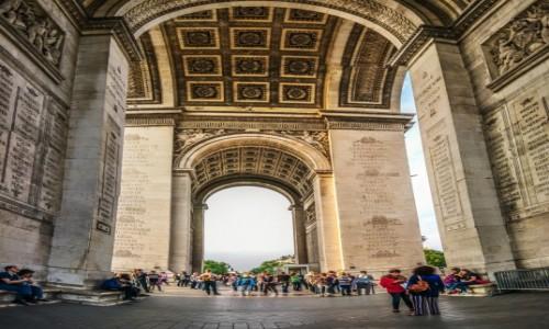 Zdjecie FRANCJA / Paryż / Paryż / Łuk Triumfalny