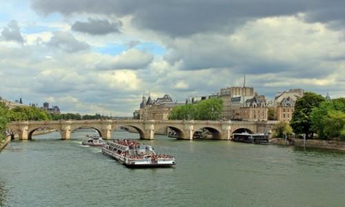 Zdjecie FRANCJA / Paryż / Paryż / Popołudnie nad Sekwaną