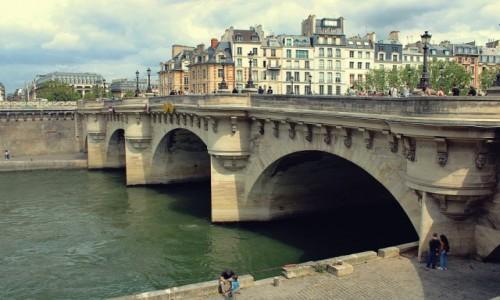 Zdjecie FRANCJA / - / Paryż / Mamy mosty...