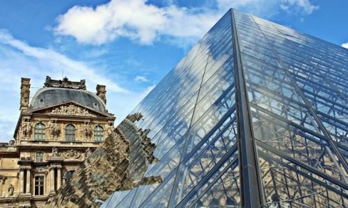 Zdjęcie FRANCJA / - / Paryż / Odbicie czyli Co kto woli