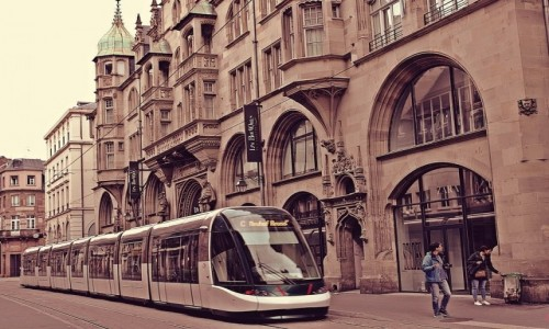 Zdjecie FRANCJA / Alzacja / Strasburg / (prze)mijanie