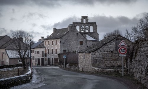 FRANCJA / Oksytania / Lozère / Fontaine Saint-Méen