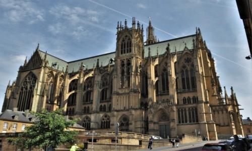 Zdjecie FRANCJA / Alzacja / Metz / Metz, Katedra