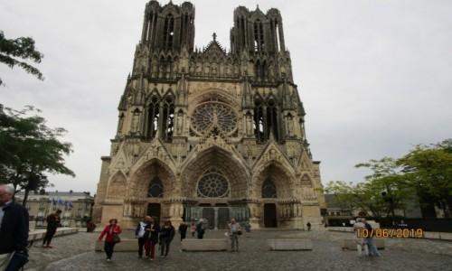 Zdjecie FRANCJA / - / Reims / Katedra w Reims