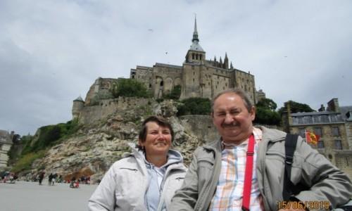 Zdjecie FRANCJA / Normandia / Wybrzeże Atlantyku / Klasztor Sanit Michel