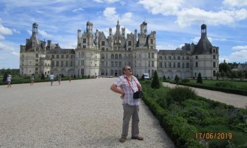 Zdjęcie FRANCJA / Zamki nad Loarą / Chambord / Majstersztyk wśród pałaców