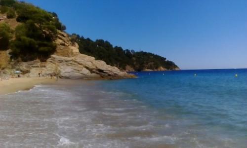 FRANCJA / Lazurowe Wybrzeże / Cavalaire-sur-Mer / Plaża Bonporteau jeszcze raz