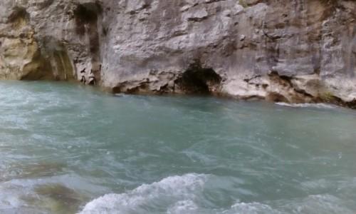 Zdjecie FRANCJA / Prowansja / Kanion Verdon / Nad rzeką Verdon