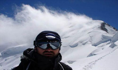 Zdjecie FRANCJA / Masyw Mont Blanc / Gra� Grande Les Bosses / W drodze na szc