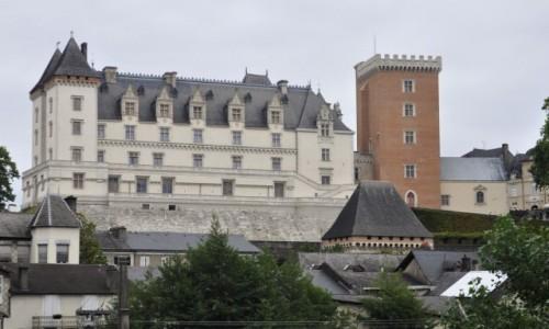 Zdjęcie FRANCJA / Pireneje / Pau / Pau, zamek