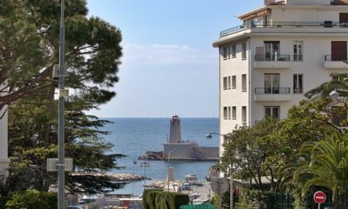 FRANCJA / Côte d'Azur / Nice / dzielnica portowa