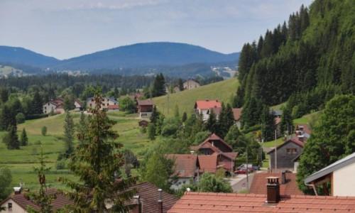 FRANCJA / Jura / Bois d'Amont / widok