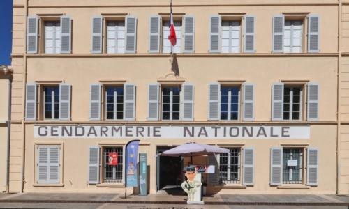 Zdjecie FRANCJA / Côte d'Azur / Saint tropez / Żandarmeria