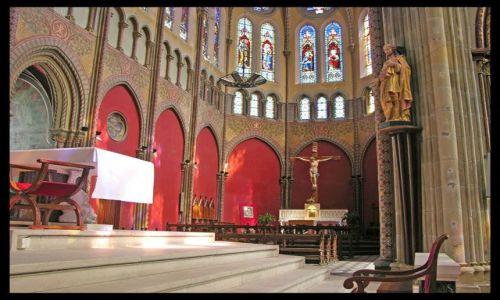 Zdjecie FRANCJA / Akwitania / Bayonne / W katedrze