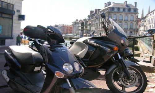 Zdjecie FRANCJA / Akwitania / Bayonne / Moto