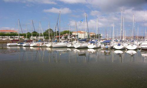 Zdjęcie FRANCJA / Akwitnia / Capbreton / Port jachtowy