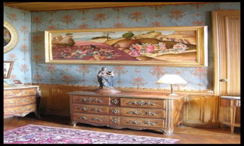 Zdjecie FRANCJA / brak / Montresor / W sypialni