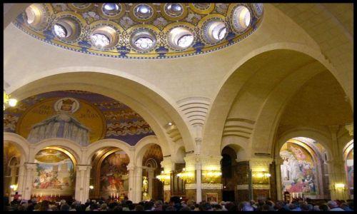 Zdjecie FRANCJA / brak / Lourdes / W kaplicy
