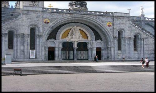 Zdjecie FRANCJA / brak / Lourdes / Wejście główne