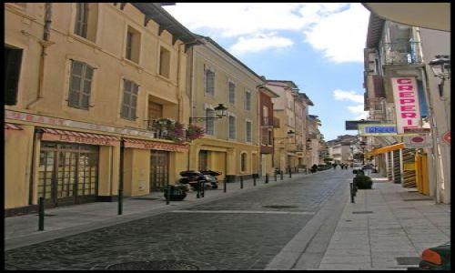 Zdjecie FRANCJA / brak / Lourdes / Uliczka