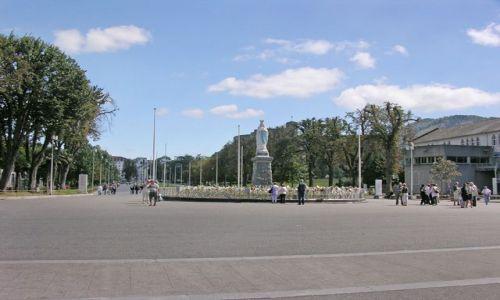 Zdjecie FRANCJA / brak / Lourdes / Główny plac