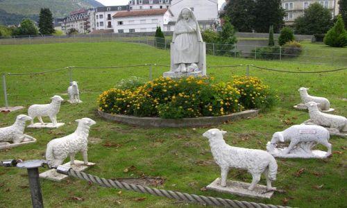 Zdjecie FRANCJA / brak / Lourdes / Św. Bernadeta