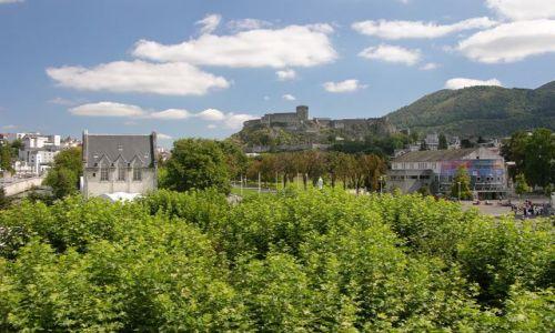 Zdjecie FRANCJA / brak / Lourdes / Widok na zamek