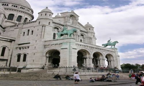 Zdjecie FRANCJA / brak / Paryż / Sacre - Coeur