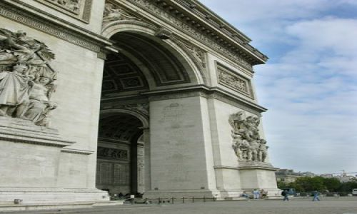 Zdjecie FRANCJA / brak / Paryż / Łuk