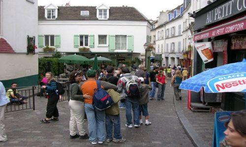 Zdjecie FRANCJA / brak / Paryż / Montmar...