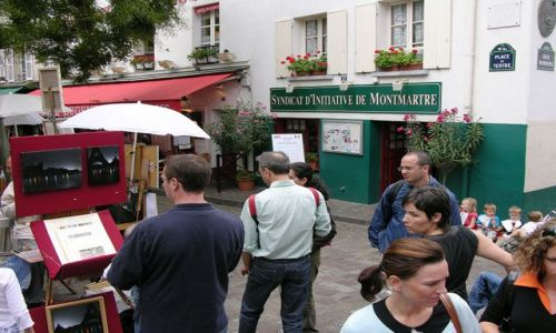 Zdjecie FRANCJA / brak / Paryż / Na Montmartre