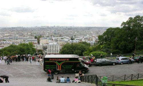 Zdjecie FRANCJA / brak / Paryż / Widok z Sacre Coeur