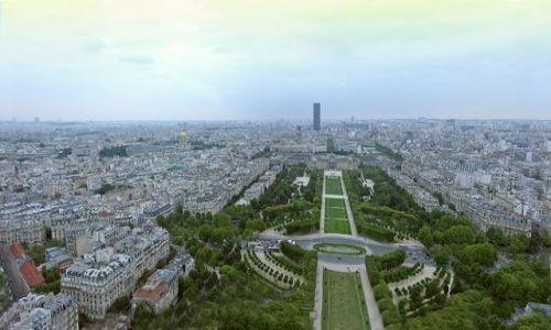 Zdjecie FRANCJA / brak / Paryż / Panorama Paryża