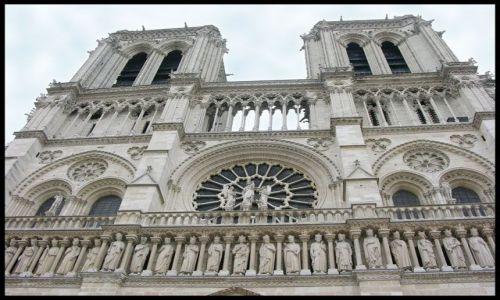 Zdjecie FRANCJA / brak / Paryż / Katedra Notre Dame