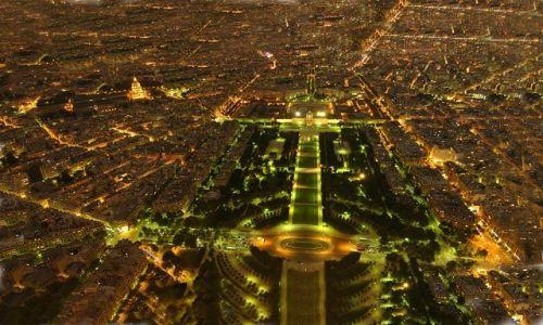 Zdjecie FRANCJA / brak / Paryż / Z wieży Eifla